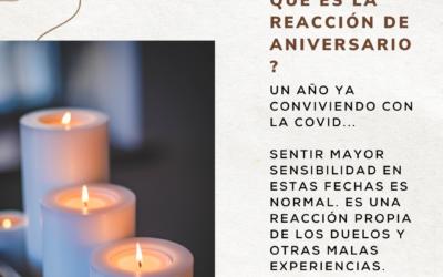 COVID 19 REACCIÓN DE ANIVERSARIO