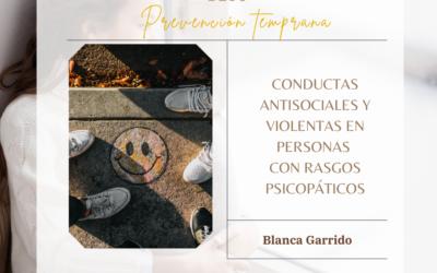 ÁREAS DE PREVENCIÓN TEMPRANA DE CONDUCTAS ANTISOCIALES Y VIOLENTAS EN PERSONAS CON RASGOS PSICOPÁTICOS