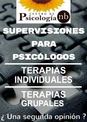 TERAPIAS PARA PSICÓLOGOS